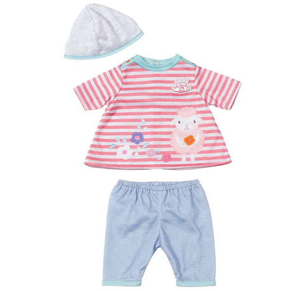 Zapf Creation Baby Annabell 794-371 Бэби Аннабель Одежда для куклы 36 см (в ассортименте) zapf creation горшок для кукол baby annabell с аксессуарами