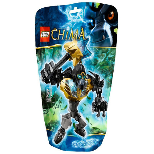 Лего Legends of Chima LOC Constraction 70202 Чи Горзан