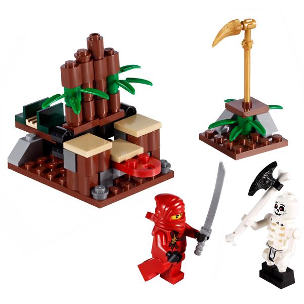 Lego Ninjago 2258 Конструктор Лего Ниндзяго Засада ниндзя