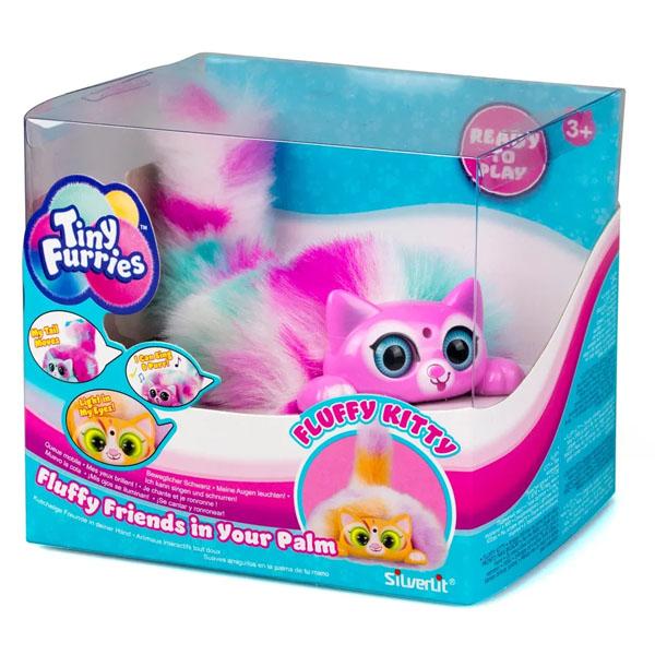Tiny Furries 83689-6 Интерактивная игрушка Fluffy Kitties котенок Lili