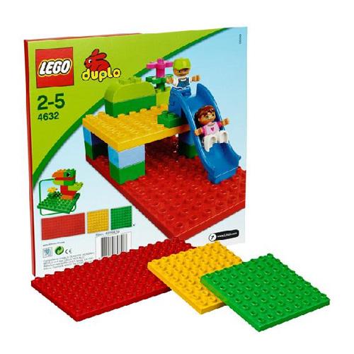 Лего Дупло 4632 Конструктор Строительные пластины ДУПЛО