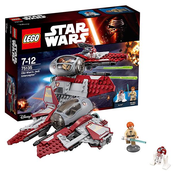 Lego Star Wars 75135 Конструктор Лего Звездные Войны Перехватчик джедаев Оби-Вана Кеноби