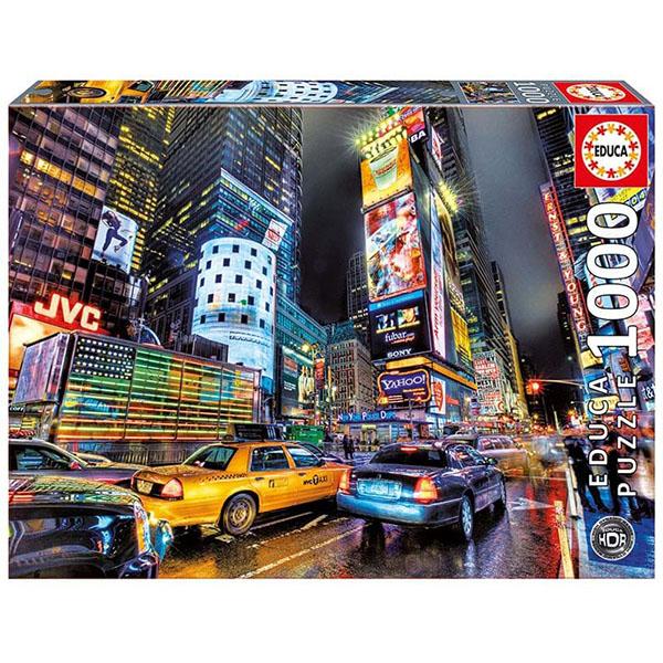 "Educa 15525 Пазл 1000 деталей ""Таймс Сквер, Нью-Йорк"""