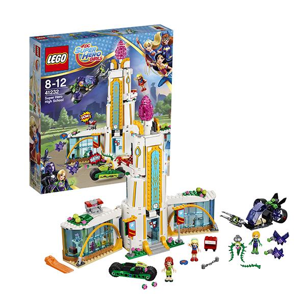 Lego Super Hero Girls 41232 Конструктор Лего Супергёрлз Школа супергероев конструктор lego super hero girls школа супергероев 41232