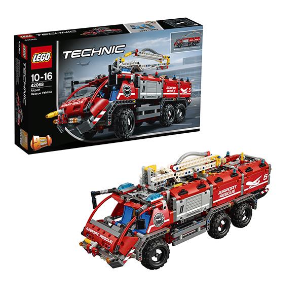 цены Lego Technic 42068 Конструктор Лего Техник Автомобиль спасательной службы