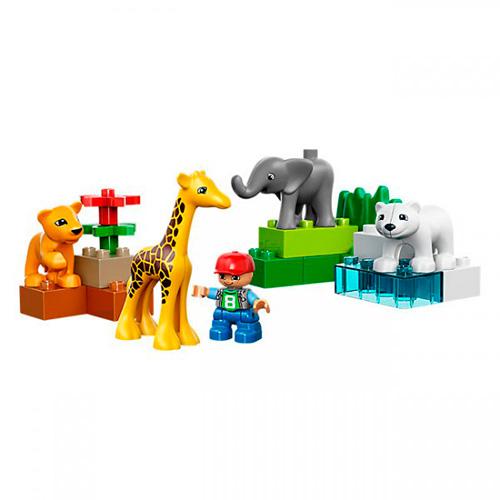 Lego Duplo 4962 Конструктор Зоопарк для малышей