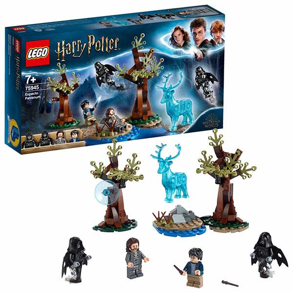 LEGO Harry Potter 75945 Конструктор ЛЕГО Гарри Поттер Экспекто Патронум! гарри поттер и проклятое дитя ч 1 и 2 финальная версия сценария