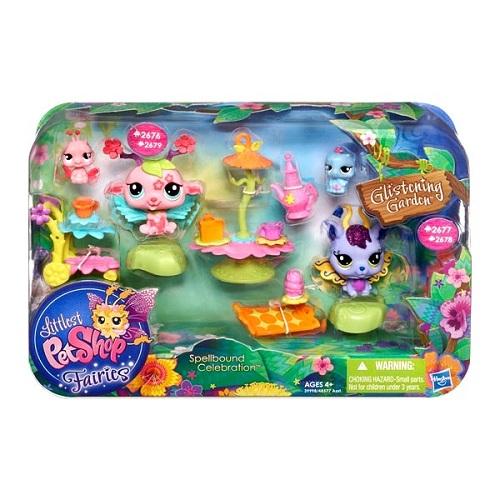 Hasbro Littlest Pet Shop 48577H Литлс Пет Шоп Игровой набор с волшебными Феями