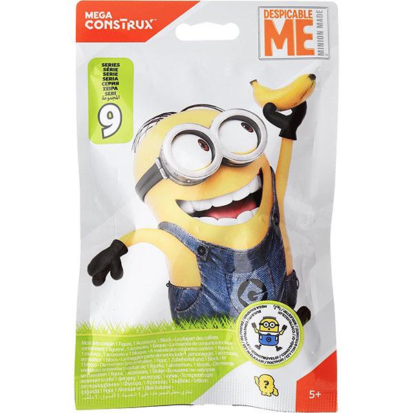 Mattel Mega Bloks FDM26 Мега Блокс Миньоны: Фигурки Миньонов в непрозрачной упаковке