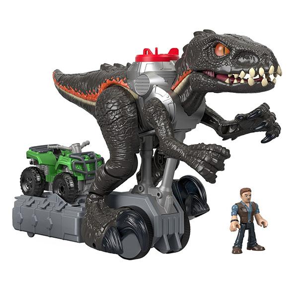 Mattel Jurassic World FMX86 Гигантский роботизированнй динозавр imaginext интерактивная игрушка jurassic world гигантский роботизированнй динозавр