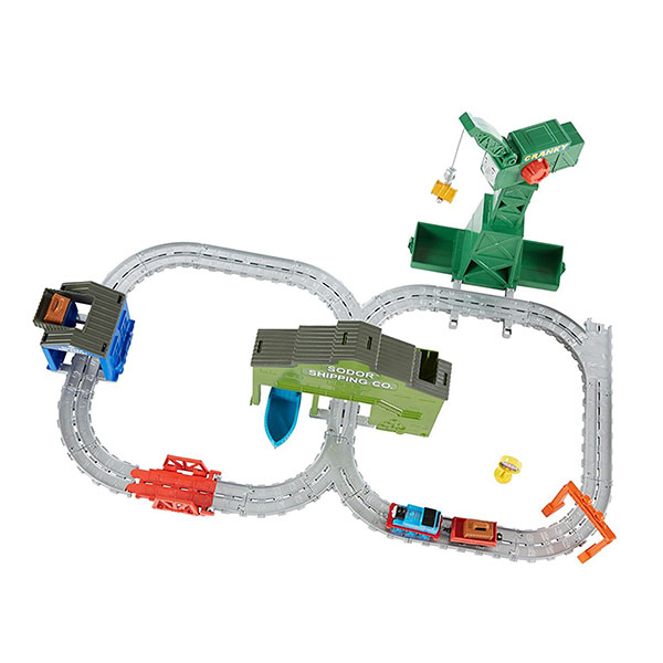 "Mattel Thomas & Friends DVT13 Томас и друзья TF Набор ""Крэнки на причале"""