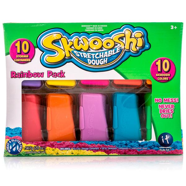 Skwooshi S30012 Сквуши Масса для лепки в контейнере skwooshi s30000 сквуши пакетик с формочкой и массой для лепки 28 г
