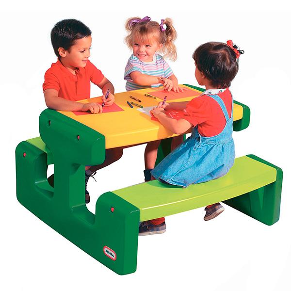 Little Tikes 466A Литл Тайкс Большой стол для пикника