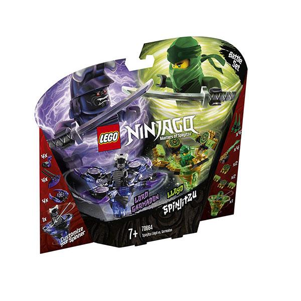 LEGO Ninjago 70664 Конструктор ЛЕГО Ниндзяго Ллойд мастер Кружитцу против Гармадона