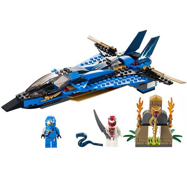 Lego Ninjago 9442 Конструктор Лего Ниндзяго Джей и его штормовой истребитель