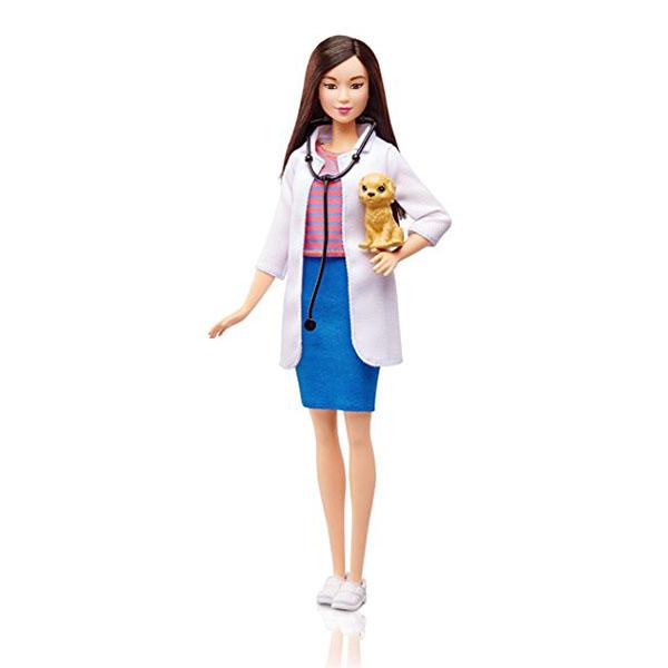 """Mattel Barbie DVF58 Барби Кукла из серии """"Кем быть?"""" цена 2017"""