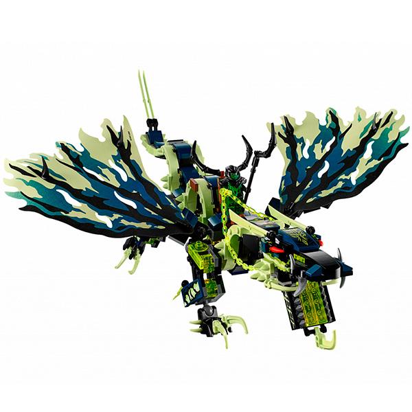 Lego Ninjago 70736 Конструктор Лего Ниндзяго Атака дракона Морро