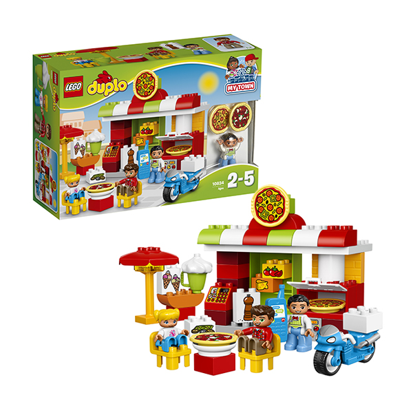 Lego Duplo 10834 Конструктор Лего Дупло Пиццерия lego lego duplo 10586 фургон с мороженым