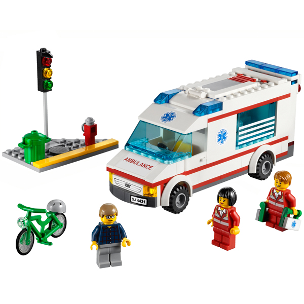 LEGO City 4431 Конструктор ЛЕГО Город Машина скорой помощи
