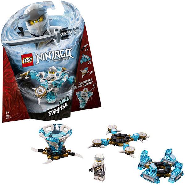 Lego Ninjago 70661 Конструктор Лего Ниндзяго Зейн - мастер Кружитцу конструктор lego ninjago 70589 горный внедорожник