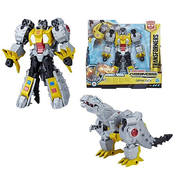 Hasbro Transformers E1886/E1908 Трансформер КИБЕРВСЕЛЕННАЯ 19 см Гримлок недорого
