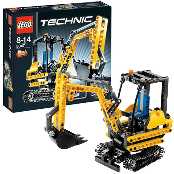 Lego Technic 8047 Конструктор Компактный экскаватор