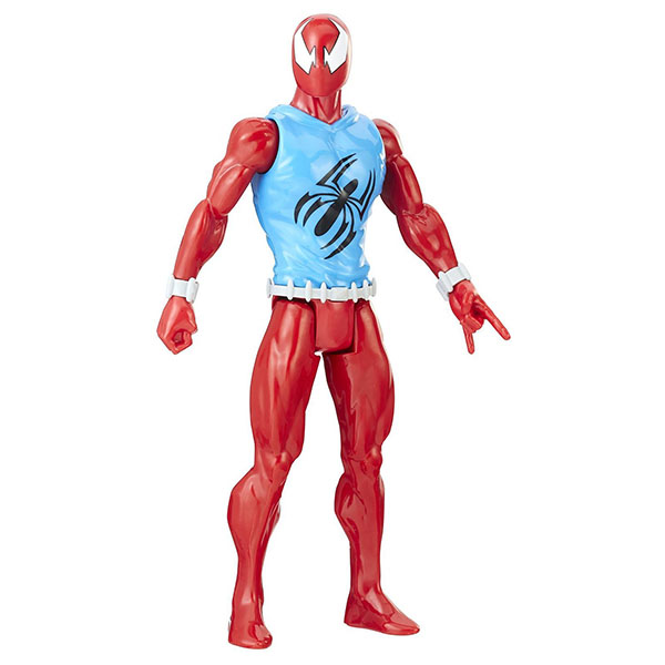 Hasbro Spider-Man E2324/E2342 Фигурка Человека Паука Pow.pack Алый 30 см