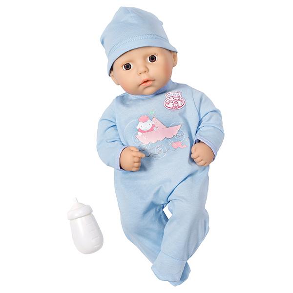 Zapf Creation my first Baby Annabell 794-456 Бэби Аннабель Кукла-мальчик с бутылочкой, 36 см недорого