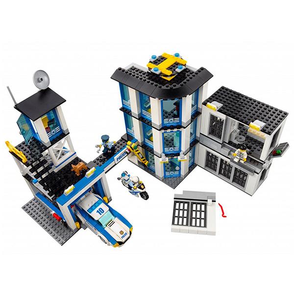 Lego City 60141 Конструктор Лего Город Полицейский участок