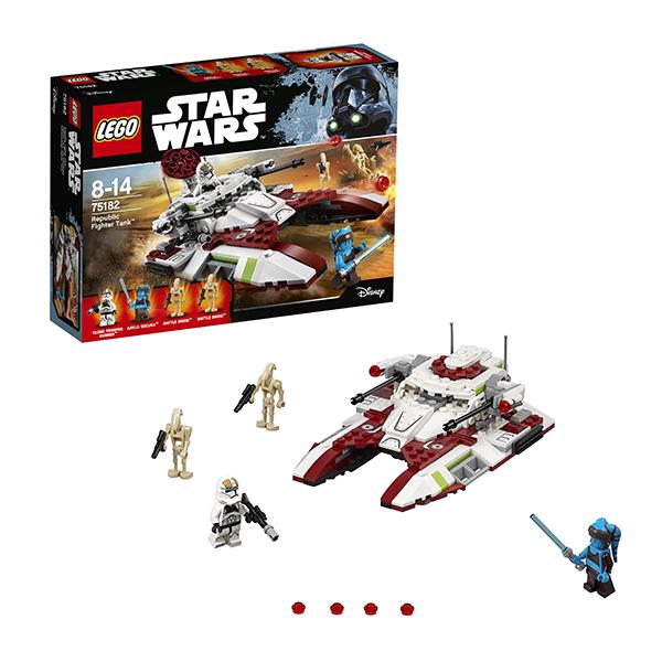 Lego Star Wars 75182 Конструктор Лего Звездные Войны Боевой танк Республики lego star wars 75165 лего звездные войны боевой набор империи