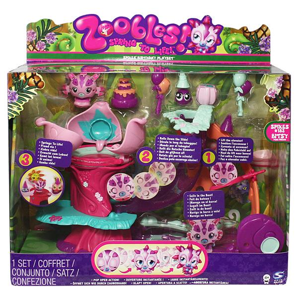 Zoobles 13215_1 Зублс игровой набор День рождения