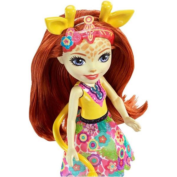 Mattel Enchantimals FKY74 Кукла с большой зверюшкой