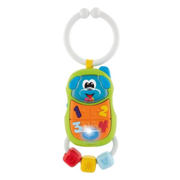 CHICCO TOYS 9708AR Игрушка-погремушка Телефончик игрушка погремушка chicco морской котик