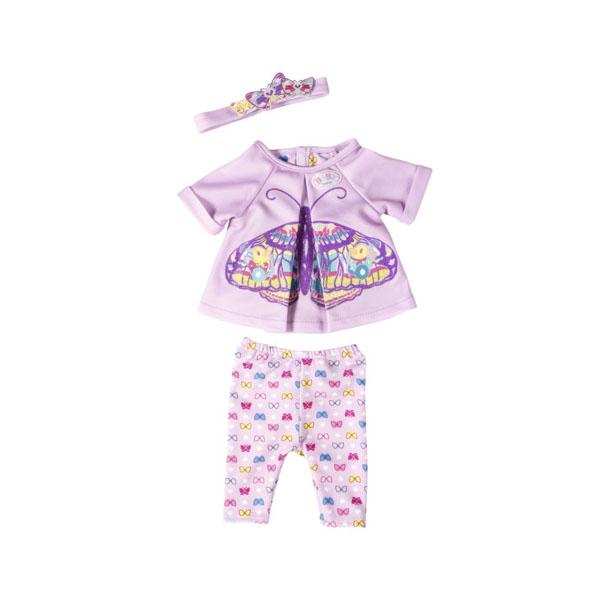 Zapf Creation Baby born 823-545 Бэби Борн Удобная одежда для дома zapf creation my little baby born 823 149 бэби борн комплект одежды для дома 32 см