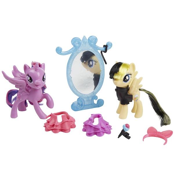 Hasbro My Little Pony B9160/E0996 Игровой набор Уроки Дружбы Искорка и Серенада игровой набор hasbro my little pony поезд дружбы