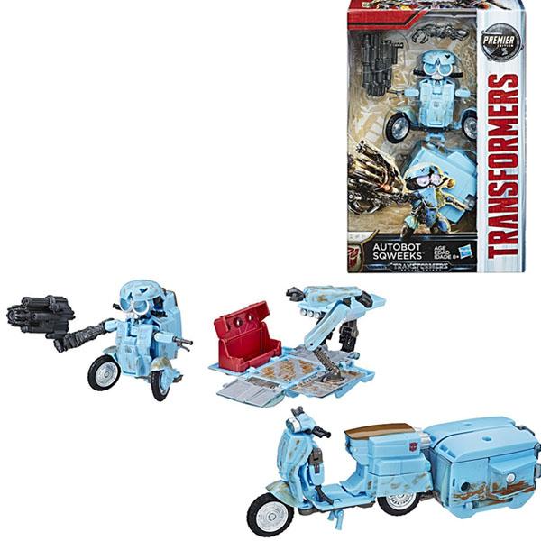 Hasbro Transformers C0887/C2403 Трансформеры 5: Делюкс Автобот Сквикс hasbro transformers c0889 c1328 трансформеры 5 последний рыцарь легион гримлок