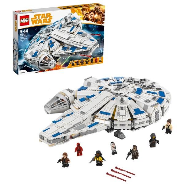 Lego Star Wars 75212 Конструктор Лего Звездные Сокол Тысячелетия на Дуге Кесселя бордюр сокол бриз 2 корабля 7x20