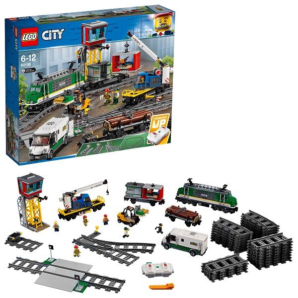 Lego City 60198 Конструктор Лего Город Товарный поезд eichhorn вагон с цистерной