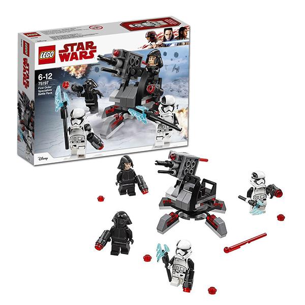 Lego Star Wars 75197 Конструктор Лего Звездные Войны Боевой набор специалистов Первого Ордена lego star wars конструктор боевой набор специалистов первого ордена 75197