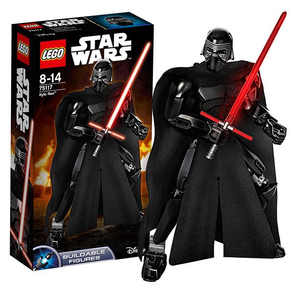 Lego Star Wars 75117 Лего Звездные Войны Кайло Рен hasbro hasbro star wars фигурка с аксессуарами звездные войны кайло рен 10 см