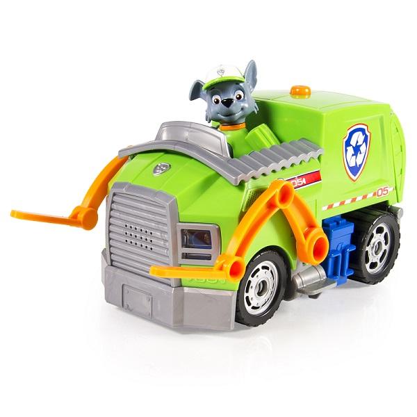 Paw Patrol 16637-Roc Щенячий патруль Большой автомобиль спасателя со звуком и светом (Рокки)