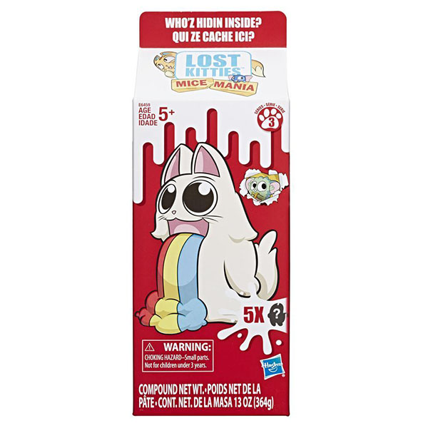 Hasbro Lost Kitties E6459 Мультипак Мышиная мания