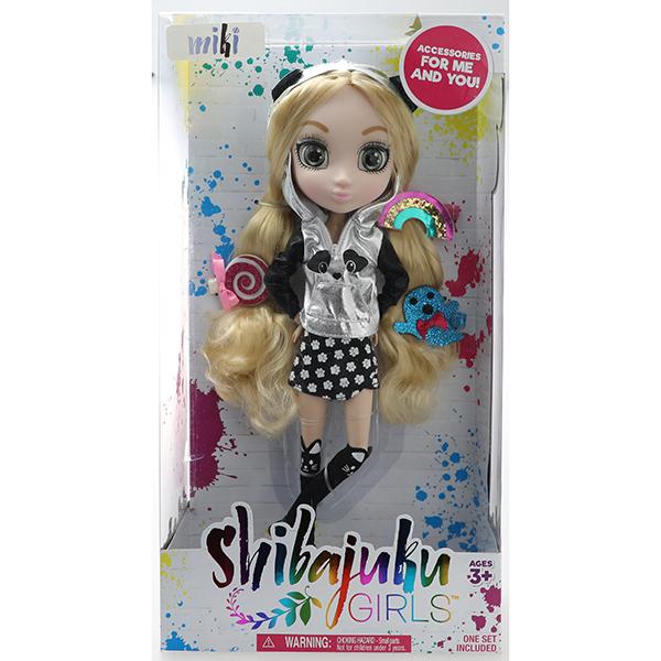 Shibajuku Girls HUN8700 Кукла Мики 4, 33 см
