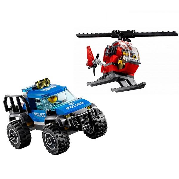 LEGO City 60174 Конструктор ЛЕГО Город Полицейский участок в горах