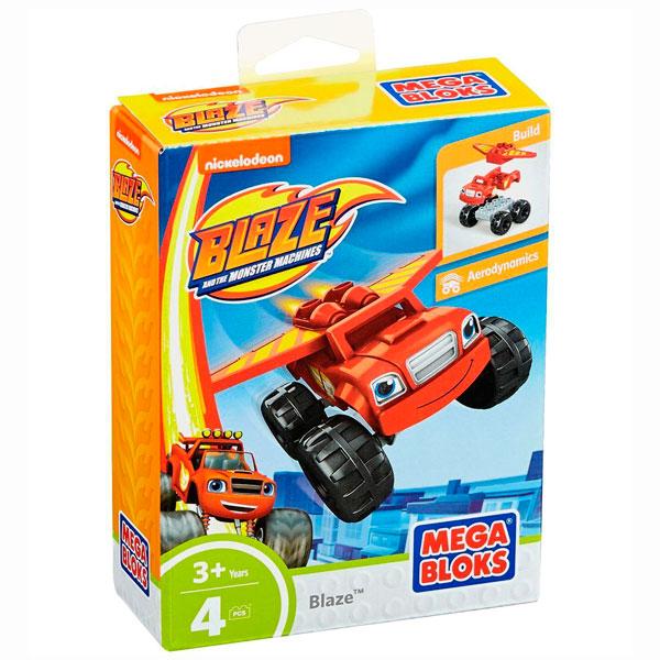 Mattel Mega Bloks DXF20 Мега Блокс Вспыш: герои мультфильма с аксессуарами