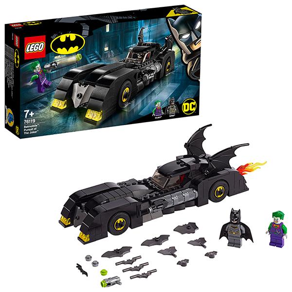 LEGO Super Heroes 76119 Конструктор ЛЕГО Супер Герои Бэтмобиль: Погоня за Джокером