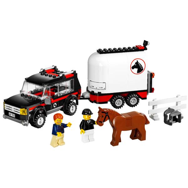 LEGO City 7635 Конструктор ЛЕГО Город Полноприводной трейлер с лошадью