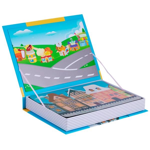 """Magnetic Book TAV032 Развивающая игра """"Веселый транспорт"""""""