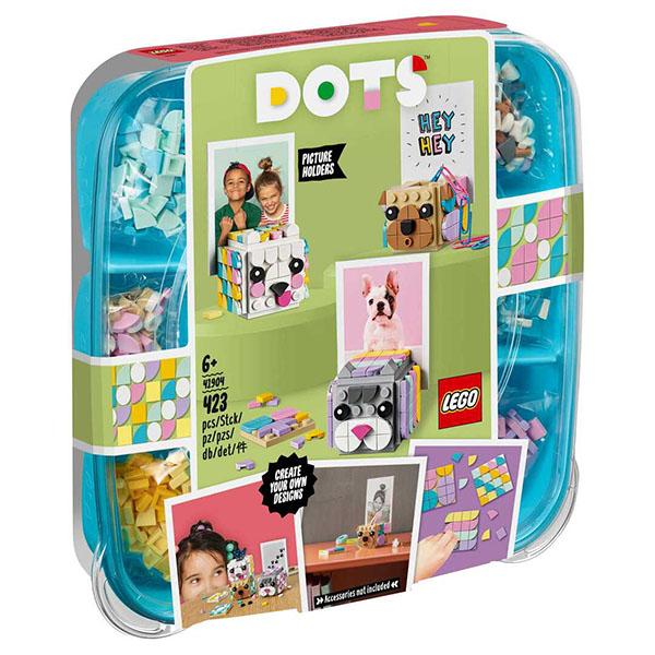 """LEGO DOTs 41904 ЛЕГО Дотс Подставка для фото """"Животные"""""""