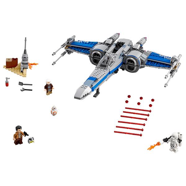 Lego Star Wars 75149 Конструктор Лего Звездные Войны Истребитель Сопротивления типа Икс